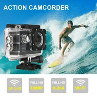 Wholesale US Stock New Wifi quot Full HD P Outdoor Sports DV M Waterproof Car Bike Helmet Cam Sports DV Action Camera
