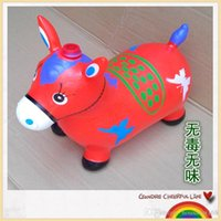 baby cloth malaysia - Large music jumping horse inflatable toys children big thick baby baby riding my horse Sports Outdoors Malaysia