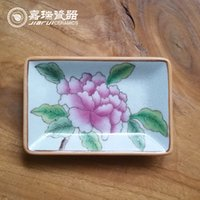 Cheap New Arrival Bathroom Soap Dish floral and birds Design Trinket Tray High quality Chinese Arts and crafts Household Items