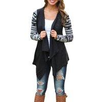 Wholesale Fashion Women s Irregular Sweater Cardigan Casual Knit Coat Outwear Tops Blouse