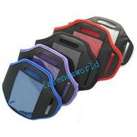 Cheap Fedex DHL Free Shipping Sport Armband Case Cover Pouch For Samsung Galaxy S5 S4 S3 Arm band bag 1000pcs lot