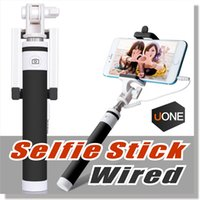 apple video recorder - Selfie Stick Selfy Handheld Extended WIRED Monopod Portrait Taker and Video Recorder UNIVERSAL FIT Apple iPhone and Android Smart Phone