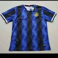 Mixta de compra de DHL 2016 2017 Tailandia Inter de Milán Negro ropa fuera la capa del traje del chándal de entrenamiento de fútbol camiseta de fútbol Jersey