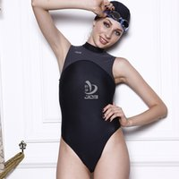 arena swim - Black mesh women swimwear Professional Triathlon Arena Swim wetsuit Sport One Piece Racing Swimwears swimsuit triangle swimwear