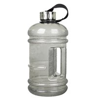 Wholesale Large Capacity Outdoor Space Plastic Water Bottles Environmental Protection Blowout Proof Space Bottle With Lifting Rope L Gray Green Pink