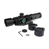 aim sports scopes - AIM Sports x40BE Mil Dot three color Illuminated Tactical Monocular riflescope sight Waterproof hunting Riflescope sight