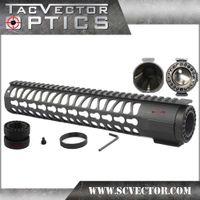 barrel key - TAC Vector Optics Free Float Rifle Style quot Inch Key Mod KeyMod Hand Guard Handguard Rail Picatinny Mount with Barrel Nut
