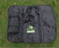 bicycle print fabric - Package Fold Bike Travel Bag Carrying Transport Case Folding MTB Road Mountain Bicycle Luggage Case Purses Manufacturer