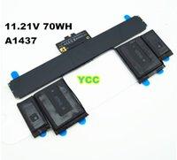 Wholesale New Origin Genuine A1437 Battery For Apple MacBook Pro quot A1425 Retina ME662LL A V wh