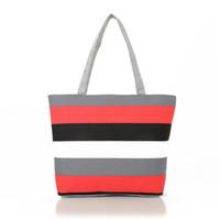 Wholesale 016 New hot fashion Women canvas bag Shoulder Tote Shopping Beach Bag Purse Handbag straw Beach Bags women shoulder bag