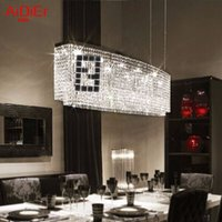 Wholesale Modern K9 crystal Pendant Lights living room LED lamps