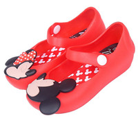 anna sandals - Mini Melissa Children s Jelly Shoes Girl s Mickey Minnie Mouse Rain Shoes Kids Baby Infant Toddler Elsa Anna Sandals