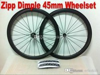 best road wheelset - 2016 zipp dimple matte best selling mm C full carbon wheel White mark wheelset carbon bicycle A05