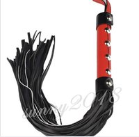 adult cosplay - SM Bondage Adult Sex Toy Fun Sexy Cosplay Leather Handle Whip Cat Nine Tail