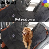 Wholesale Pet Dog Cat Car Cushion Rear Back Seat Carrier Cover Pet Dog Mat Blanket Seat Cover Mat Waterproof Hammock Cushion Protector
