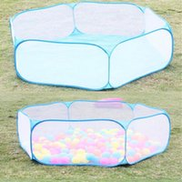 Wholesale Hot sale Kids Play Game House tent Pool Children Tent Ocean Ball Pool Baby Educational Toys Outdoor Fun Sports Lawn Game