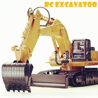 arm motor control - 15 channel fully functional Excavator RC toys Remote control big Hummer car kg Large RC car model