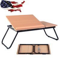 Wholesale Portable Laptop Desk Notebook Computer Tray Folding Table Stand Sofa Bed New