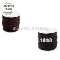 beading supplies necklace - meters pack Dia mm Round Elastic Cord Beading Stretch Thread String Rope for Necklace Bracelet Jewelry Material Supply F670