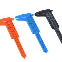 Wholesale 6 quot Vernier Caliper mm mm plastic Calipers Gauge Micrometer Measuring Tools