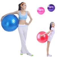 Wholesale Fitness Massage Yoga Ball Point Message Environmental Protection PVC Body building Tool Exercise Pilates Ball MD0034 kevinstyle