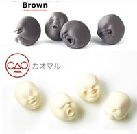 Wholesale Hot sale Vent Human Face Ball Stress Ball Anti Stress Relievers Japanese Design Cao Maru Kids Toys LC363