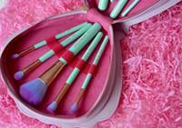 clam - Pre sale Spectrum Brushes Mermaid Dreams Piece Vegan Brush Set Glam Clam Case Vegan Brush Set