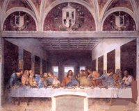 art last supper - THE LAST SUPPER JESUS CHRIST BY LEONARDO DA VINCI Hand painted Figure Art oil painting On Canvas MUSEUM QUALITY in any size customized