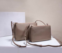 Wholesale Famous Designer Brand Genuine Cowhide Leather Trio Crossbody Bags High Quality Shoulder Bag Simple Purses Fashion Women Luxury Clutch Bags