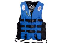adult life vest xxl - 2016 New Life Jackets Fashion Life Vest Rafting S M L XL XXL XXXL Adults Children Life Vest jy523