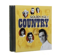 Wholesale Small Version Golden Age of Country Disc Music CDs Boxset US Version