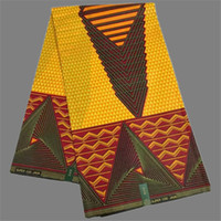 african print fabric - Hot sale African veritable real wax prints ankara printed fabric for fashion dress WF391 yards pc