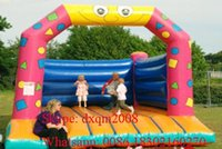 backyard playgrounds - 2016 High quality Best seller outdoor playground trampoline for sale backyard inflatable bouncer