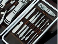 Wholesale Manicure Kit Stainless in set Mini Manicure Kit Stainless Steel Professional Cuticle Nipper Manicure Set