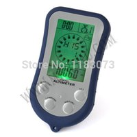 Wholesale Brand New in1 Digital LCD Backlight Altimeter Compass with Thermometer Clock Barometer
