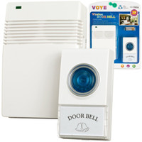 bell packages - VOYE V005A Wireless Remote Control Door Bell Digital Doorbell DC with Different Tune Melody Chimes in Retail Package Dropshipping