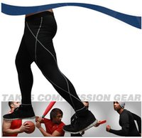 animal sports wear - New Brand Mens Sports Leggings Academia Fitness Quick Dry Pants Compression Wear Running Tights Fitness Trousers Yoga