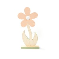 Wholesale wood flower home decoration accessories crafts Figurines cm home garden party decorations