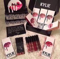 Wholesale SMLIE SPICE PUMPKIN TRICK MOON colors Kylie Jenner Lip Gloss GINGER KRISTEN MALIBOO Makeup Lips Long Lasting Lip Gloss lipstick Lip