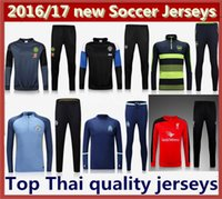 Wholesale Mixed Order new best quality mens Arsenal MancHester Chelsea UnITED LiverpoolS Manchester City Marseille Soccer Training suit jersey