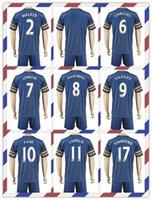 alli cheap - Cheap Tottenham Uniforms Kit Soccer Jersey Mason Kane Lamela Alli Lloris Eriksen Away Blue Jerseys