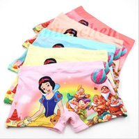 Wholesale Kids Frozen boxers Snow White briefs Mickey underwear Spiderman Brief Minions Underpants KT shorts Cute Panties Baby Clothing Pants A70