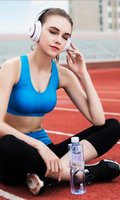 Wholesale Basic Sport Bra in different colors Wireless little push up fit for Yoga Running Fitness free shpping and high quality