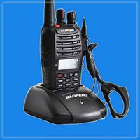 Wholesale by DHL or EMS pieces New Baofeng UV B5 W CH UHF VHF A1011A Dual Band Frequency Display Two way Radio Walkie Talkie