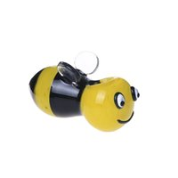 bee shapes - Smoking Dogo New Arrival Heady Design Bee Spoon Shaped Hand Pipe Glass Pipe Yellow and Black Length cm Cute Water Pipe
