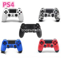 Wholesale Brand New Bluetooth Wireless game controller for Playstation4 Game Controller Joystick gamepad DHL
