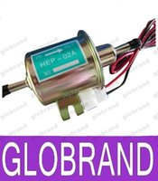 Wholesale 12V Universal Gas Diesel Inline Low Pressure Electric Fuel Pump HEP A GLO402