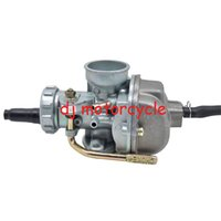 Wholesale Metal Motorcycle Silver Carb Hand Choke Style Carburetor With Fuel Filter For Honda XR80 Dirt Bike