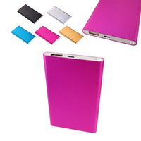 big battery backup - Big Capacity mAh USB External backup Mobile Battery Charger power bank for iPhone for Samsung colors