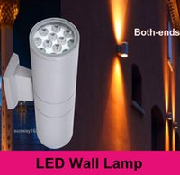 Wholesale 36W Exterior Interior UPDOWN LED Wall Mount Lamp AC V UP Down Lighting Garden Yard Light Waterproof IP65 Quality Bulb DHL
